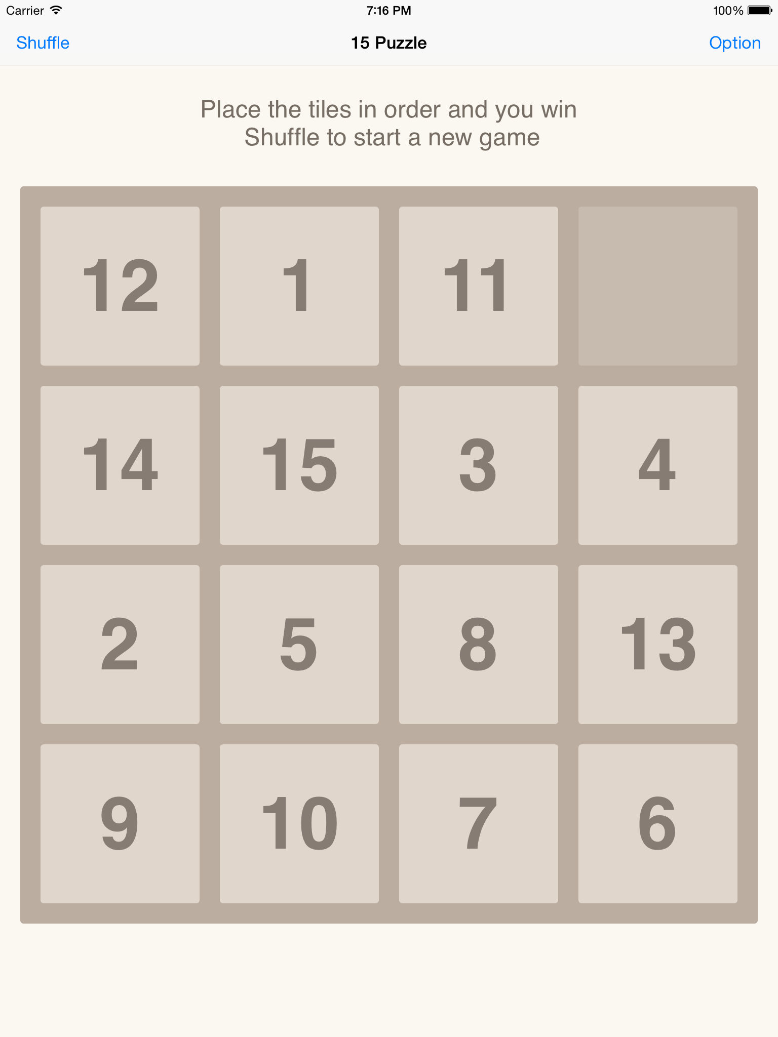 15 Puzzle Challenge HD - Traditional Number Tile Puzzles