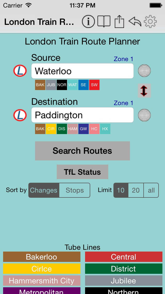 London Train Route Planner App Ranking and Store Data | App
