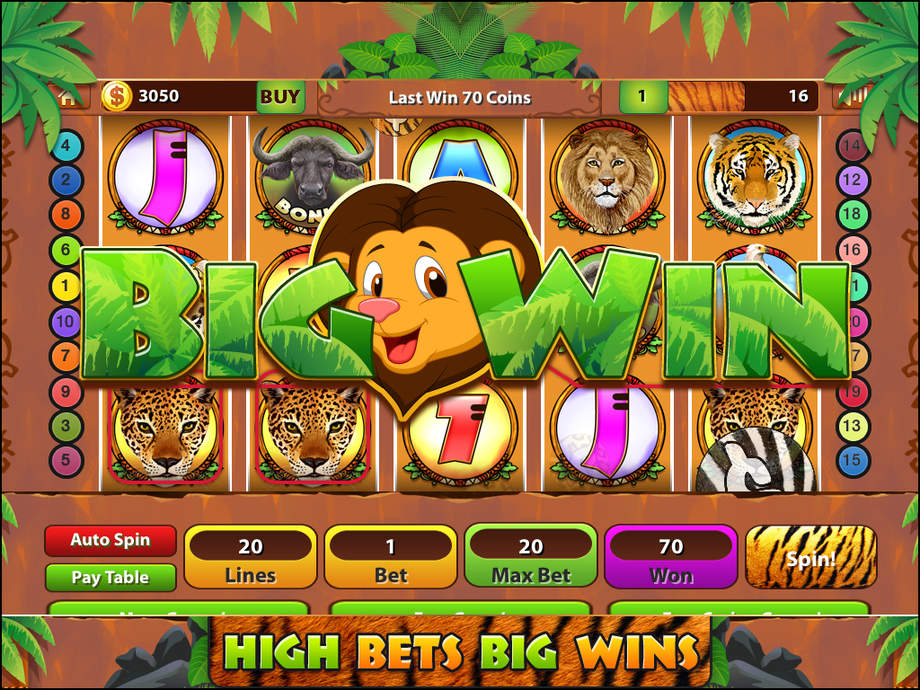 The Wild Life Slots - Free Online Spielo Slot Machine Game
