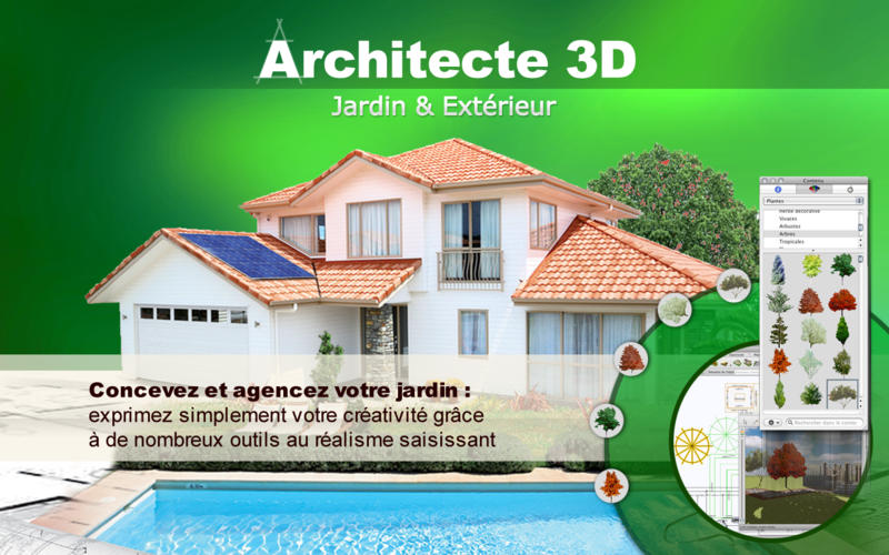 Architecte 3d jardin ext rieur 2015 mac store store for Architecte exterieur jardin