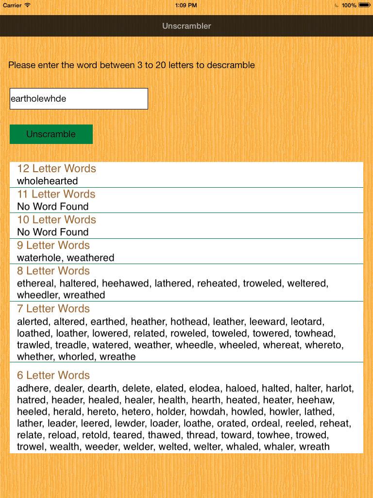 Unscrambler Word App Ranking And Store Data App Annie