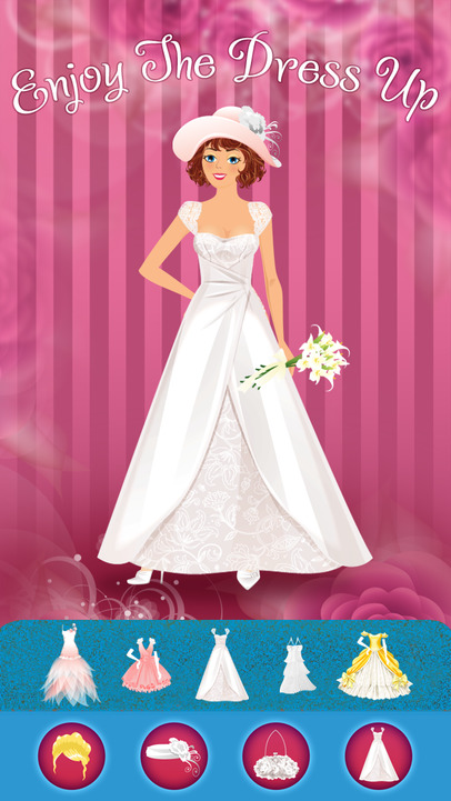 Royal Wedding Dress Designing Games : Design a royal wedding dress game