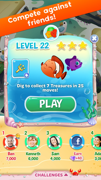 Fish frenzy mania app ranking and store data app annie for Fish for money app