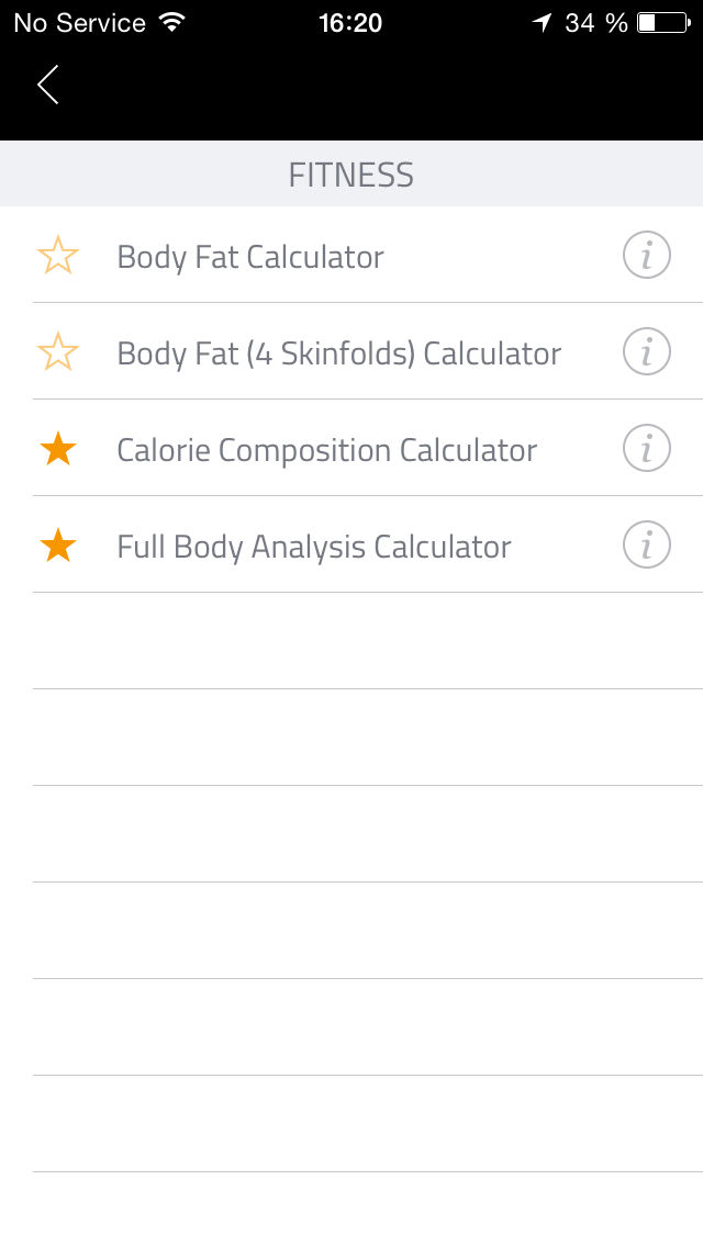 Fit Calc: Fitness calculator to help you with full body analysis App ...