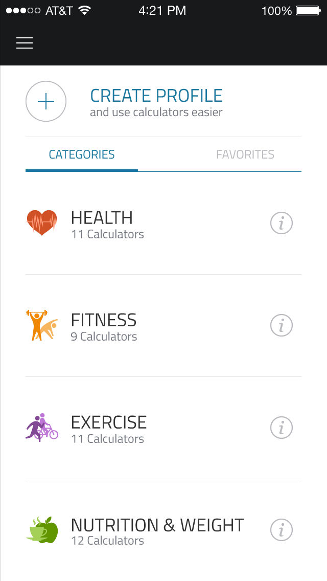 Fit Calc: Fitness calculator to help you with full body analysis App