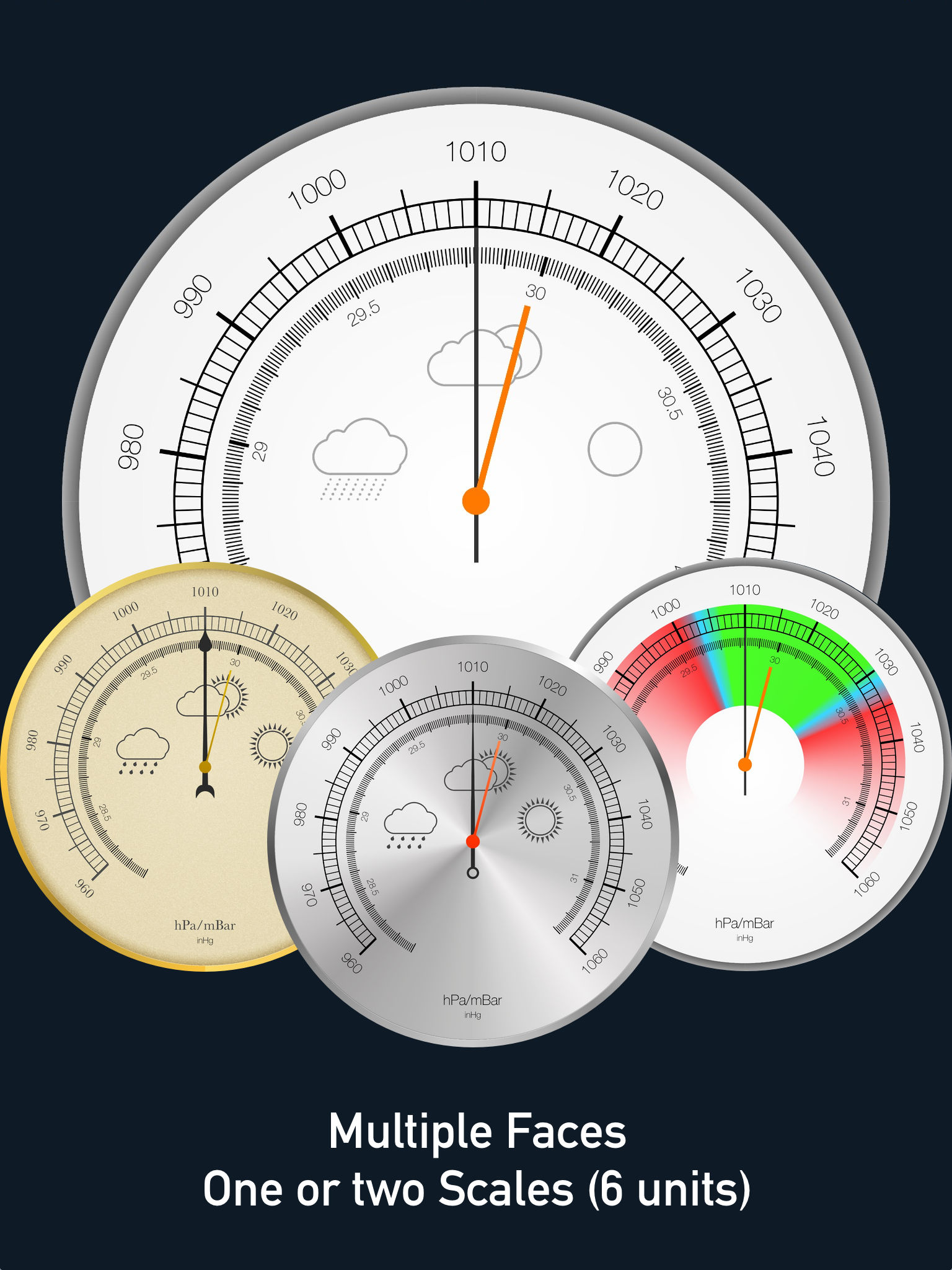 Barometer altimeter pro app ranking and store data app for Barometer and fishing