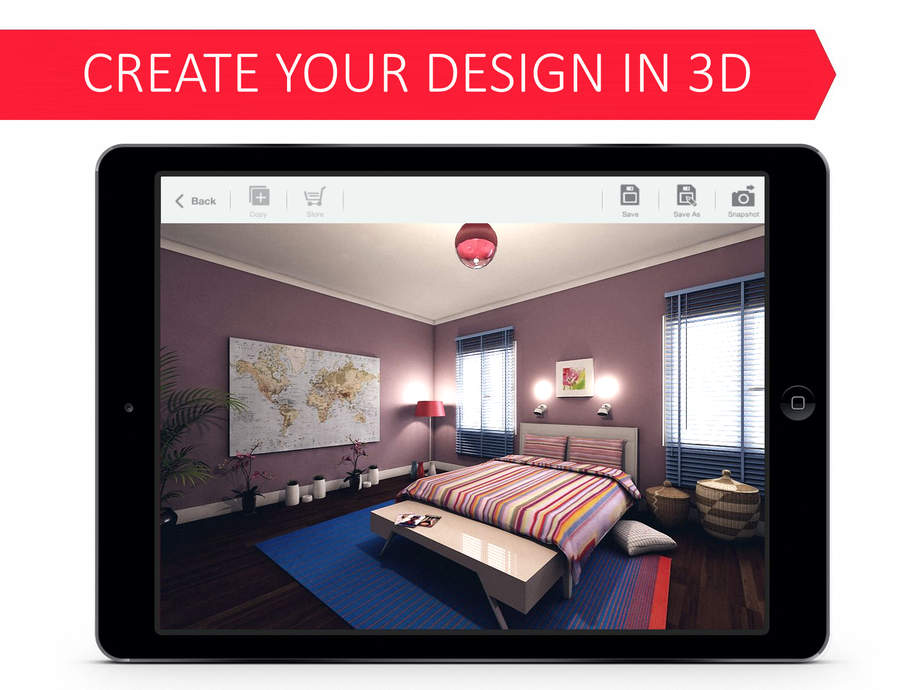 Bedroom 3d For Ikea Interior Design Free Ios Store