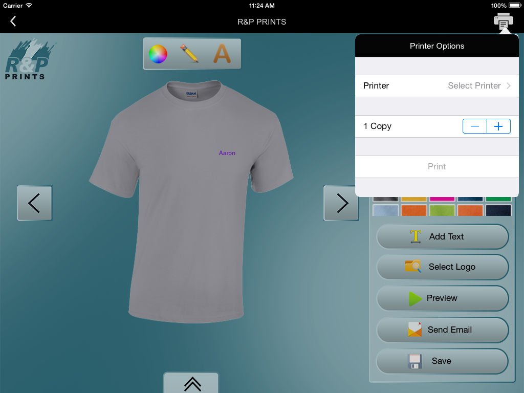 Custom T Shirt Designer Rp Prints App Ranking And Store Data