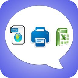Export Messages - Save Print Backup Recover Text SMS iMessages App Ranking  and Store Data | App Annie