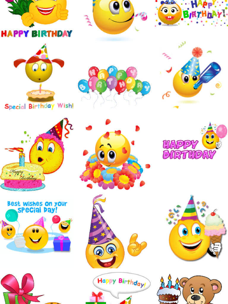 Birthday Emojis App Ranking And Store Data