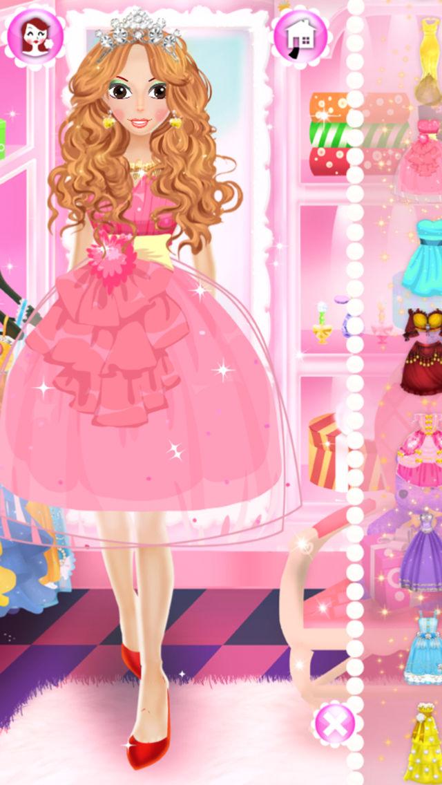 Princess Hair Salon Makeover Game - dressupgames.com