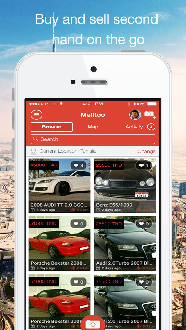 Used Cars In Tunisia By Melltoo Buy And Sell Second Hand Cars In