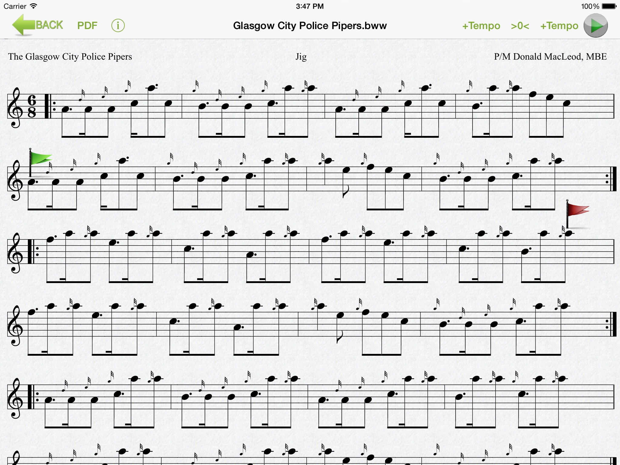 Bagpipe Player App Ranking and Store Data | App Annie