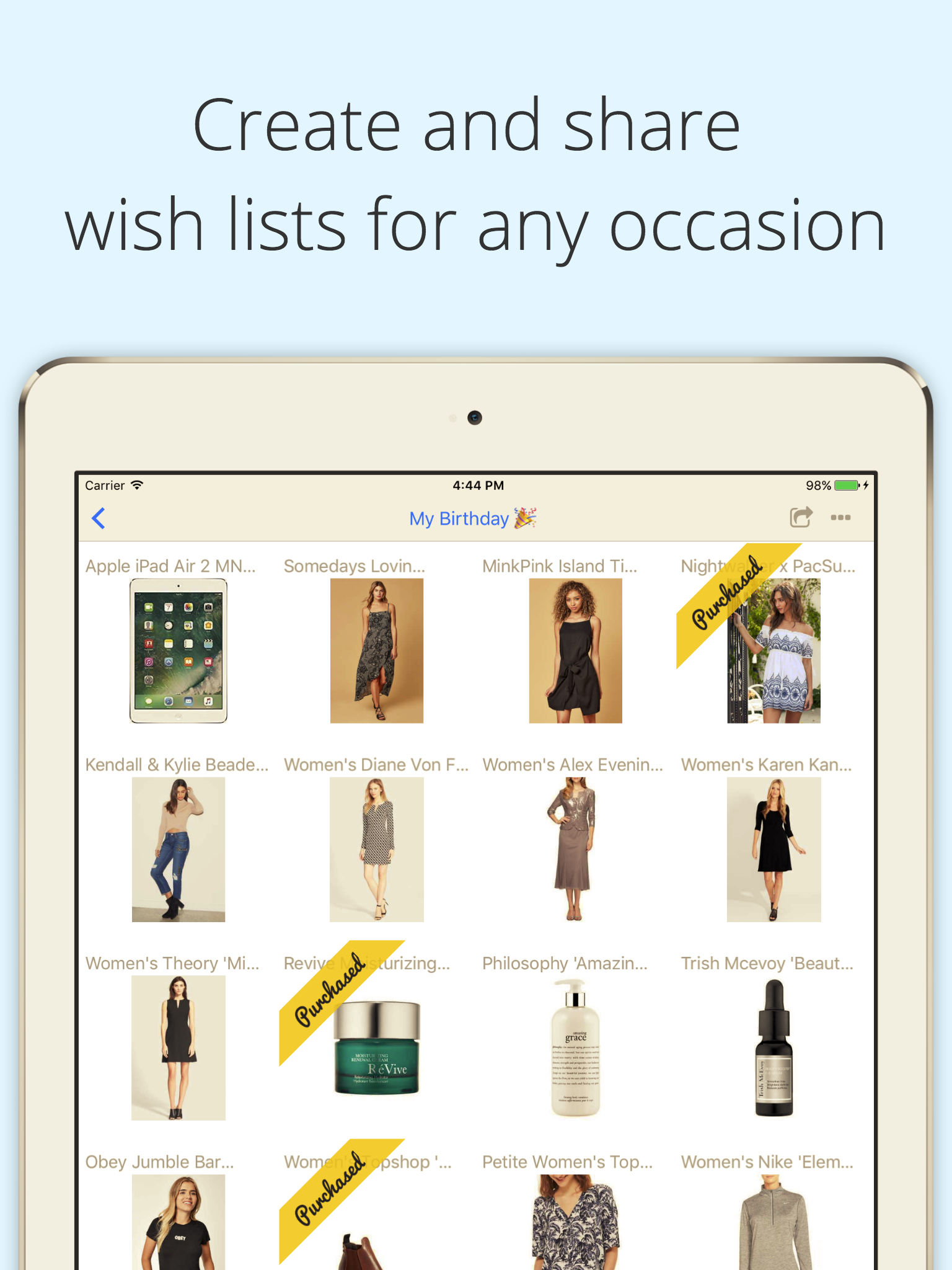 WishMindr Wish List Gift Registry App Ranking And Store Data