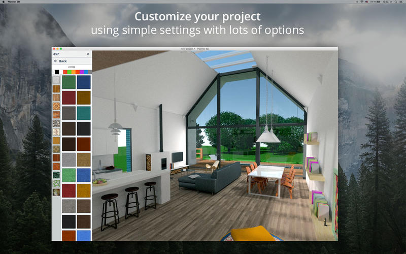 Planner 5d home interior design app ranking and store for Office design 5d
