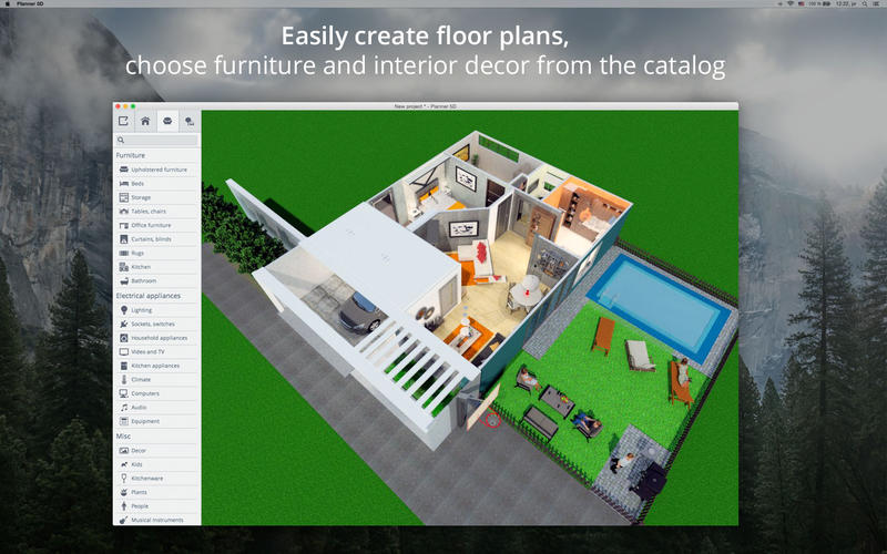 Planner 5d home interior design app ranking and store - Interior design apps for mac ...