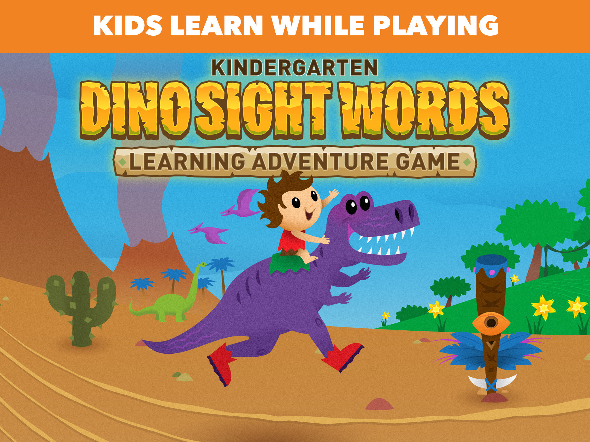 Dino Sight Words: Kindergarten Learning Game App Ranking and