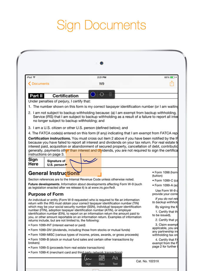 Genius sign annotate pdf documents app ranking and store for Sign documents app free