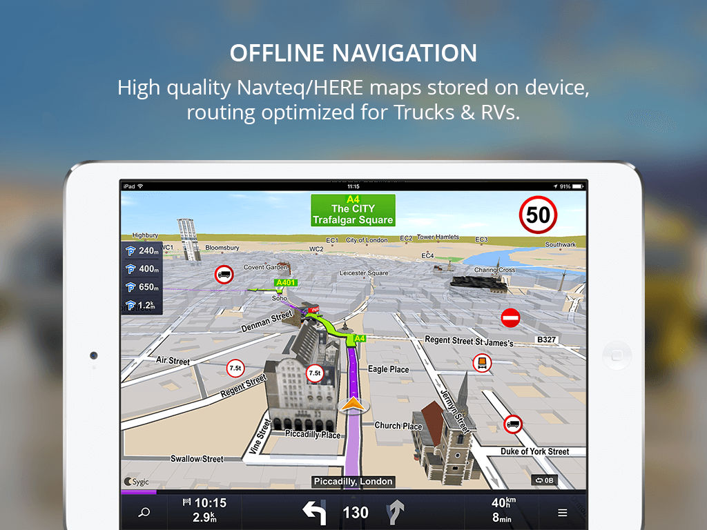 Sygic Truck GPS Navigation App Ranking and Store Data | App