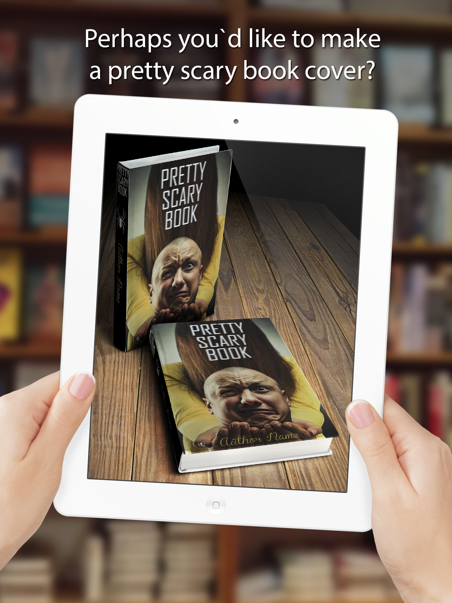Best Book Cover Maker App ~ Book cover maker create and share with friends app