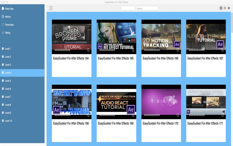EasyGuides! For After Effects App-Ranking und Store-Daten