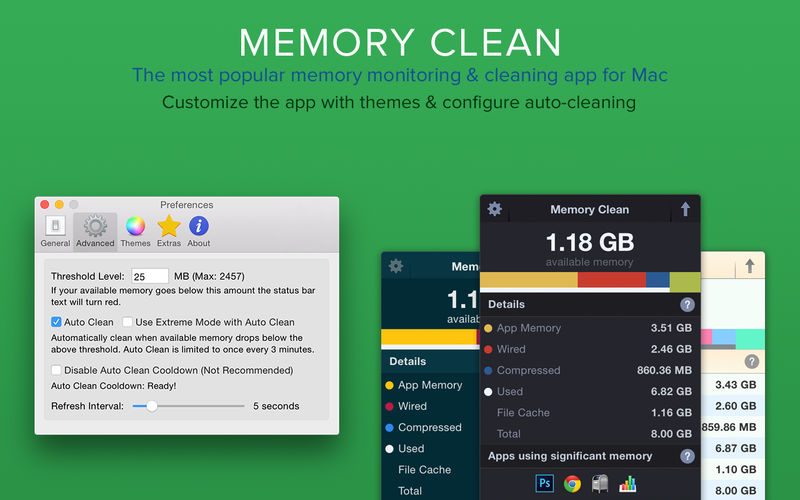 how to clear memory on a mac