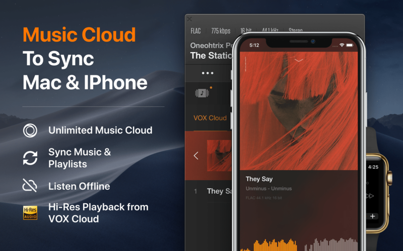 VOX: MP3 & FLAC Music Player App Ranking and Store Data