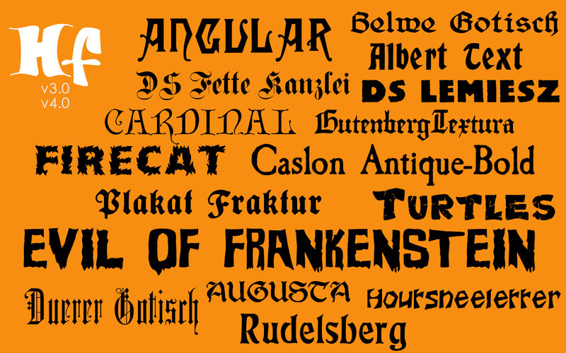 Halloween Fonts: Free Commercial Use Holiday Fonts App Ranking and ...