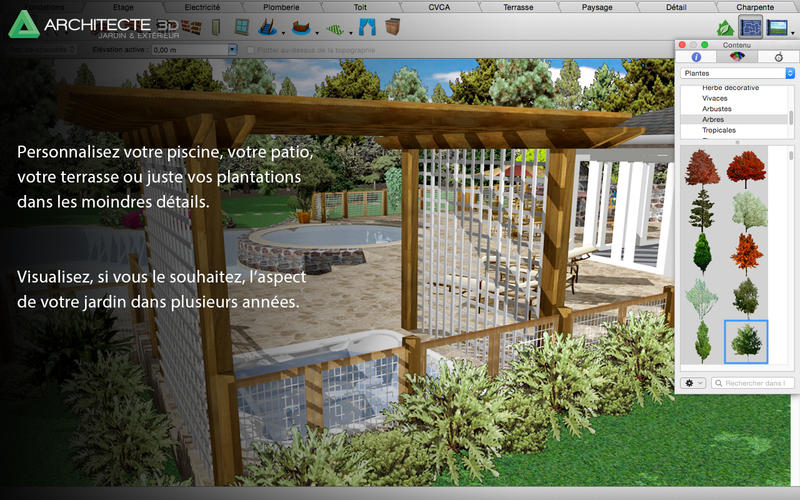 Architecte 3d jardin ext rieur 2015 app ranking and for Architecte exterieur jardin