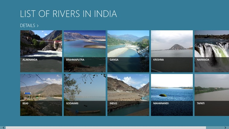 LIST OF RIVERS IN INDIA App Ranking And Store Data App Annie - List of major rivers