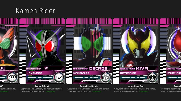 kamen rider app ranking and store data app annie