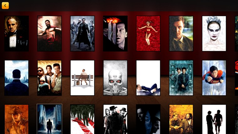 movie quiz game guess movie posters app ranking and store data