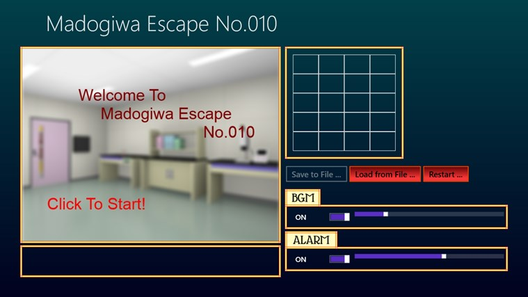 C One Room Adventure Game Save And Load