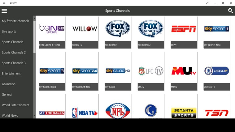 Watch live tv online sports free