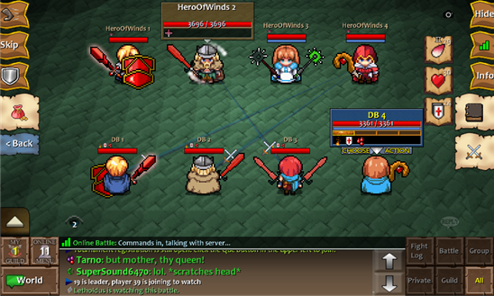 endless frontier how to join guild