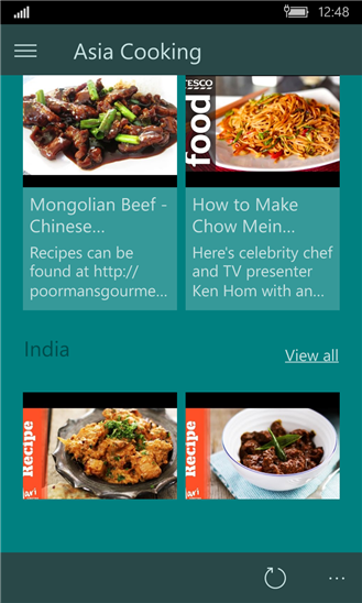 Asia cooking app ranking and store data app annie asia cooking the video recipe app is available as a universal app for windows 81 and windows phone 81 and as a a universal windows plattform app for forumfinder Gallery